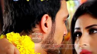 Shivanya and Ritik Romance covered by Aajtak.