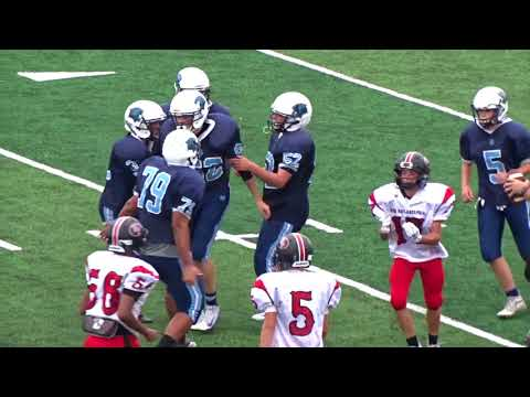 New Philadelphia Quakers at Louisville Leopards Freshman Football Highlights 9 6 2018