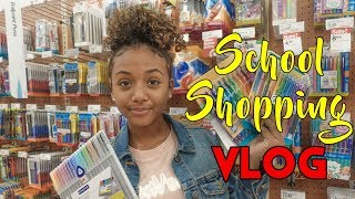 Back To School - School Supplies Shopping Haul | LexiVee03