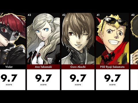 Most Handsome & Beautiful Persona 5 Royal Faces with HotiiBeautii