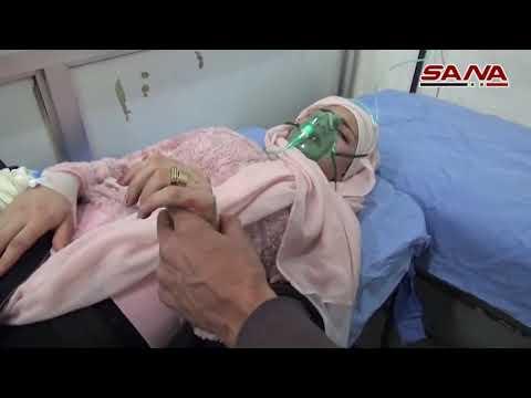 По Алеппо нанесён удар химическим оружием