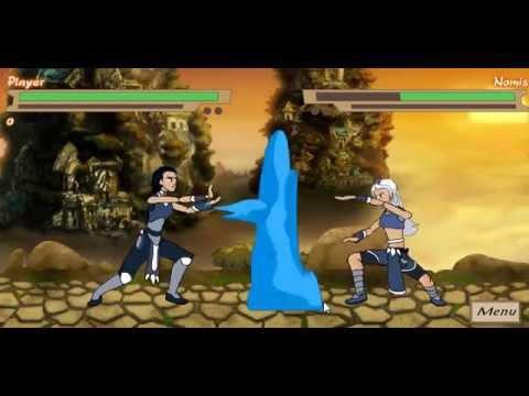Игры драки, Аватар Арена, драка на воде