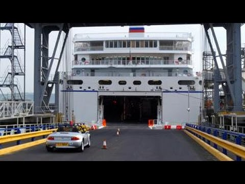 Boarding Our Ships Ferry Travel To France Spain Brittany