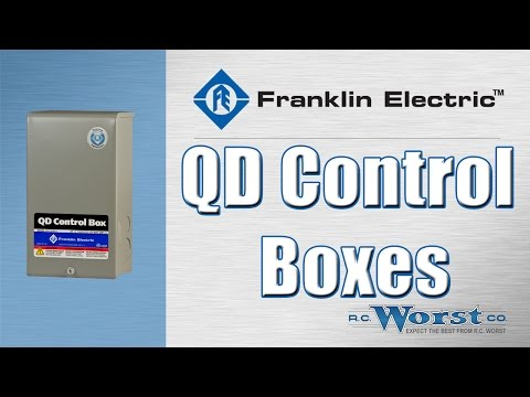 Franklin Electric QD And CRC Control Boxes