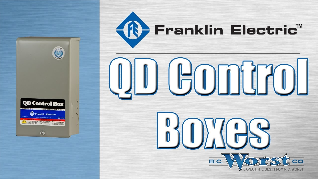 maxresdefault franklin electric qd and crc control boxes youtube franklin electric control box wiring diagram at crackthecode.co