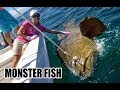 12 yr old Girl Catches GIANT FISH with a ROPE - WORLD RECORD?