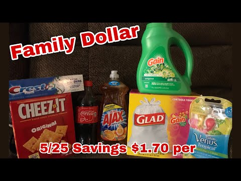 Family Dollar 5/25 Deals