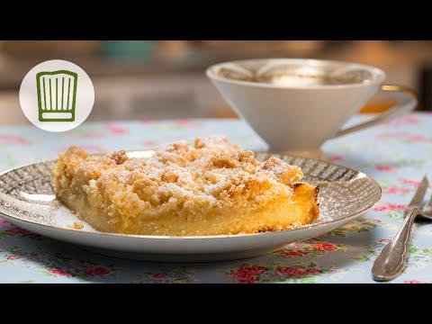 Apfelkuchen mit Streuseln vom Blech Rezept #chefkoch