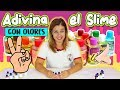 Adivina el SLIME con OLORES 2 ! Recetas de Slime adivinando esencias |  Slime challenge COMO SE HACE