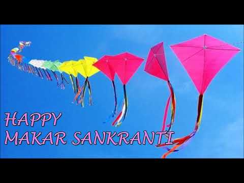 Happy Uttarayan status...