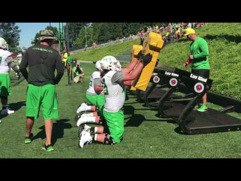 Oregon Ducks football: Sights and sounds from Day 2 of fall camp