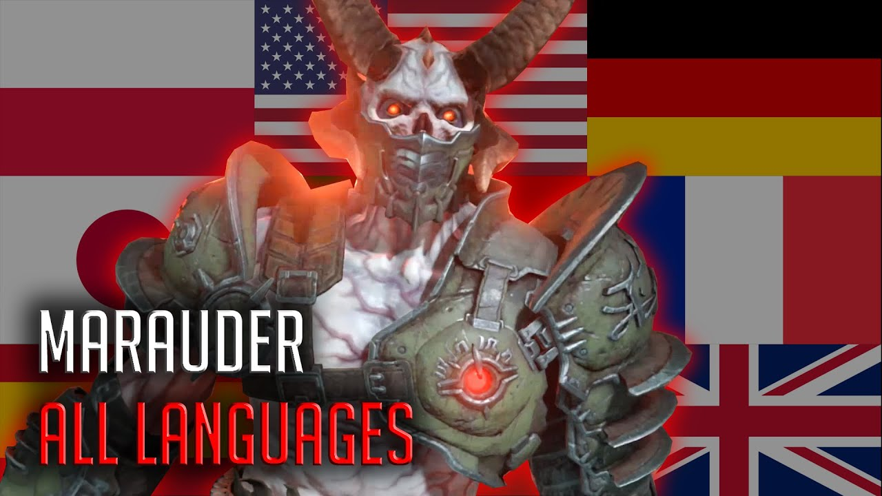 Download Marauder's Monologue in All Available Languages - Doom Eternal