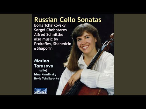 Sonata in E Minor for Cello and Piano