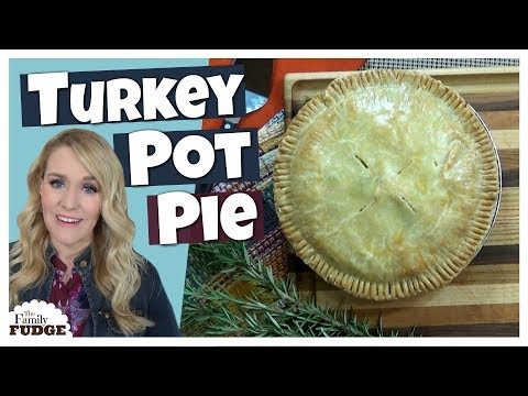 EASY Turkey Pot Pie + FREEZER MEAL || What To Make With Thanksgiving Leftovers!