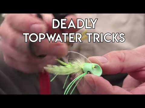 Deadly Topwater Tricks