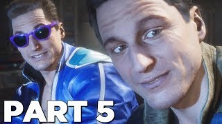 MORTAL KOMBAT 11 STORY MODE Walkthrough Gameplay Part 5 - JOHNNY CAGE (MK11)