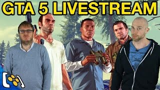 GTA 5 Livestream: Stunts, Stupidity, Shooting (Online)