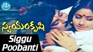 Swayamkrushi Songs || Siggu Poobanti Video Song || Chiranjeevi | Vijayashanti || K. Viswanath
