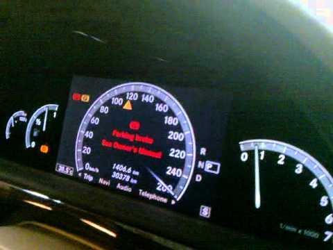Mercedes s class wheel speed sensor failure live on for Mercedes benz speed sensor location