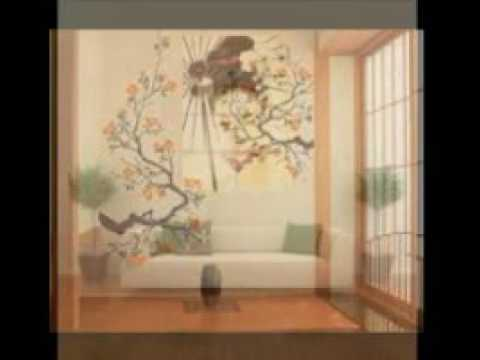 Japanese Wall Art Youtube