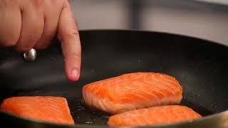 طريقة طبخ السلمون