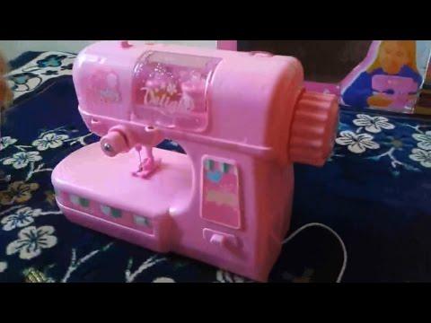Barbie Sewing Machine Machine Toy YouTube Interesting Barbie Sewing Machine Instructions