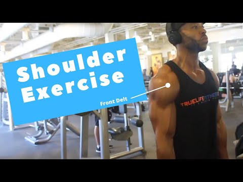 Shoulder Workout For Mass With Cables