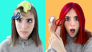 TESTING RIDICULOUS VIRAL HAIR HACKS!!