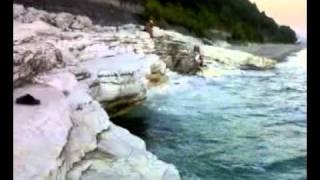 видео белые скалы фото абхазия