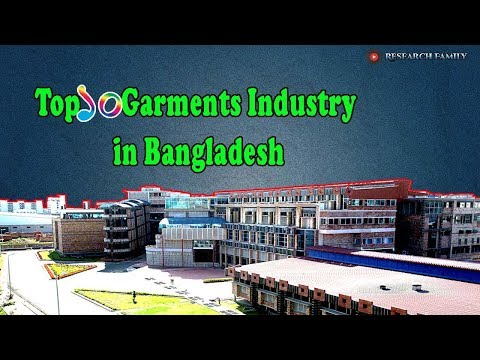 Top 10 Garments Industry in Bangladesh - YouTube