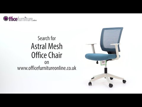 Astral Mesh Office Chair Features And User Guide - OfficeFurnitureOnline.co.uk
