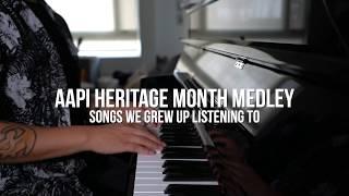 Asian-American Piano Medley - AJ Rafael (Songs You Grew Up Listening To)