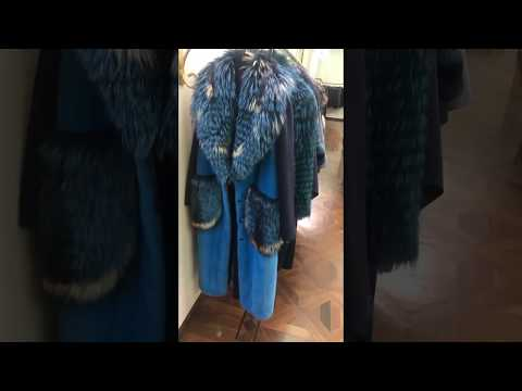 Пальто кашемир с мехом в Милане:(+39)3341694865
