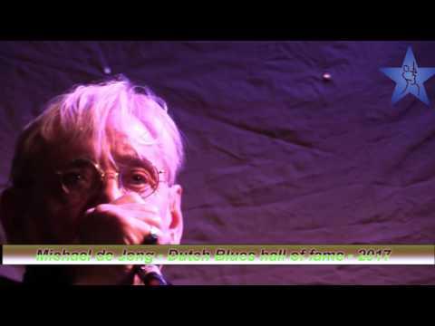 Michael de Jong - Uitreiking DBF hall of fame 2017 - 16 juni 2017 Blues in Wijk