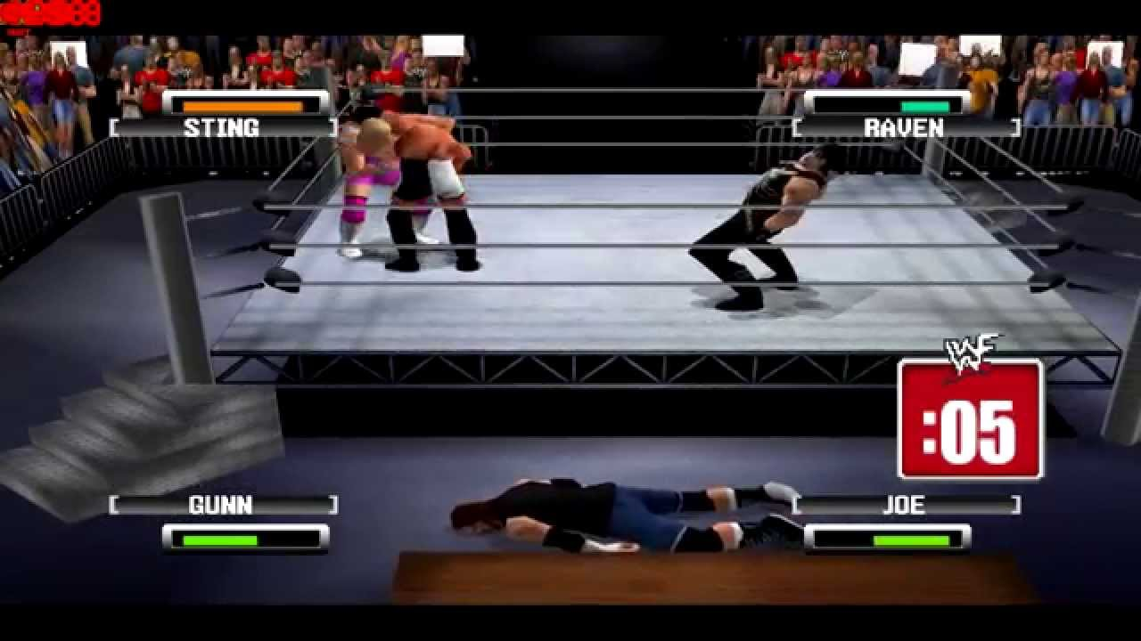WWF No Mercy 64 With Commentary - WWE Championship Mode (Sting