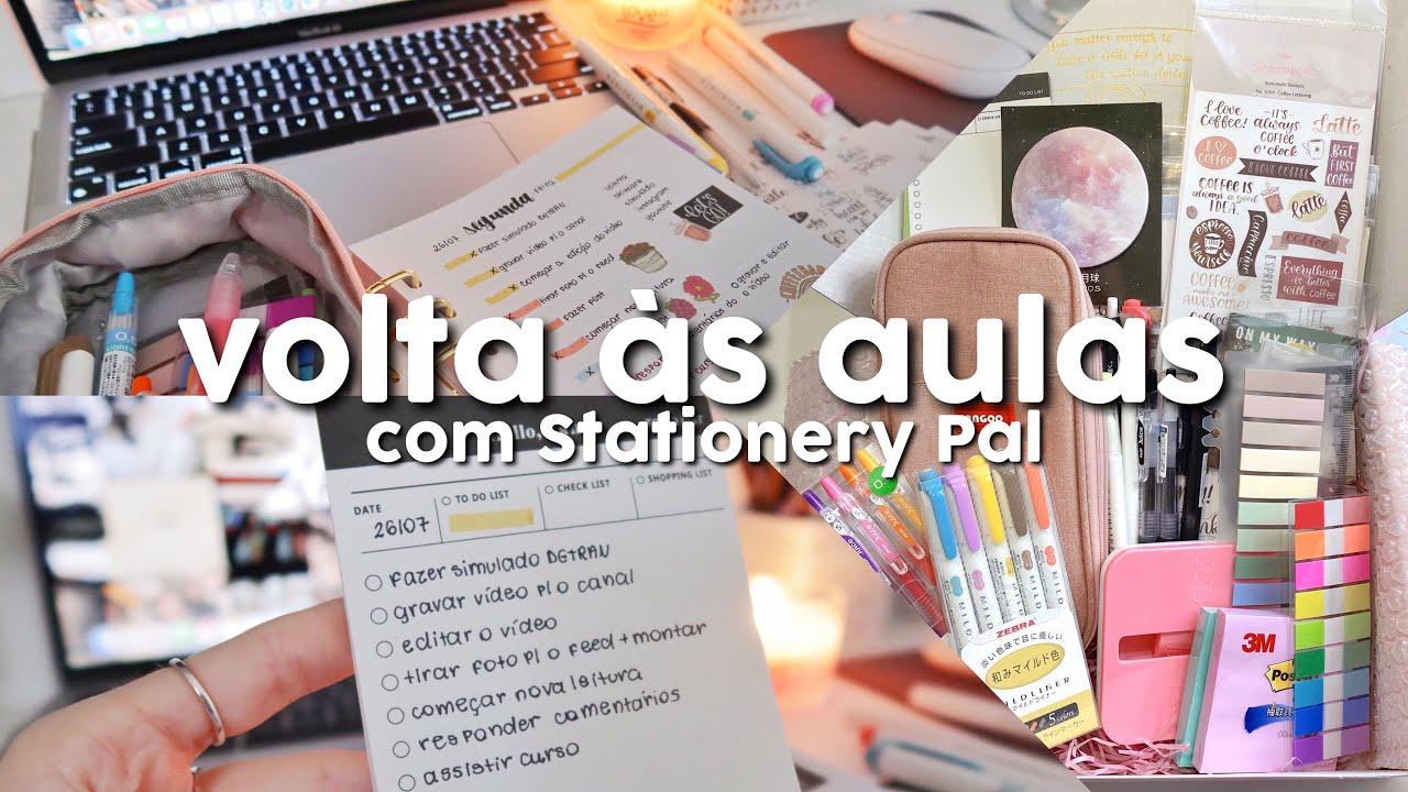 VOLTA ÀS AULAS com Stationery Pal | recebidos internacional