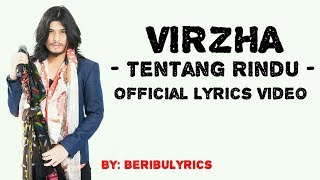 "Download VIRZHA - TENTANG RINDU ""LIRIK"""
