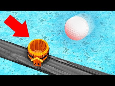 WORLD'S MOST ACCURATE GOLF LANDING EVER! (Golf It)