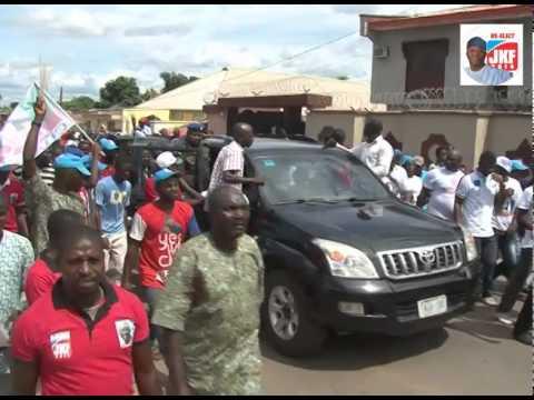 JKF Campaign Trail in Ado-Ekiti