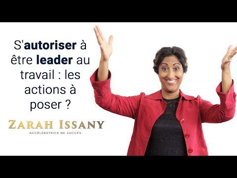 S'autoriser à être leader au travail: quelles sont les actions à poser?