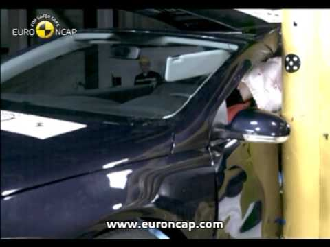 euro ncap vw eos 2007 crash test youtube. Black Bedroom Furniture Sets. Home Design Ideas
