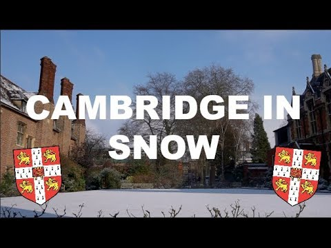 Beautiful Cambridge University In The Snow | Night Adventures and a Rowing Disaster