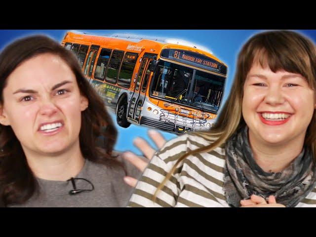 Wildly Uncomfortable Public Transportation Stories