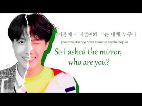 Bangtan Boys (BTS) -  FAKE LOVE (Rocking Vibe Mix) (Color Coded Lyrics: Hangul, Romaji, English)