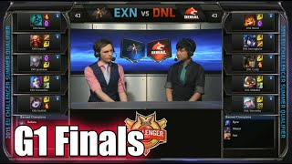 Ex Nihilo vs Denial eSports EU | Game 1 Grand Finals S5 EU CS Summer 2015 Qualifiers | EXN vs DNL G1
