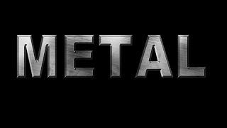 Металлический текст в Photoshop (эффект) | Metall text in Photoshop