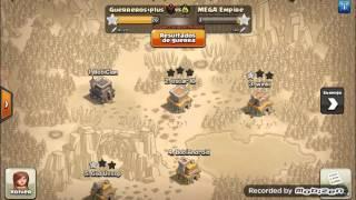 Clash Of Clans | Guerra De Clanes | GueRReRos+plus VS MEGA Empire #2