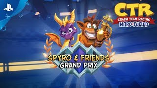 Crash Team Racing Nitro-Fueled - Spyro & Friends Grand Prix Intro | PS4