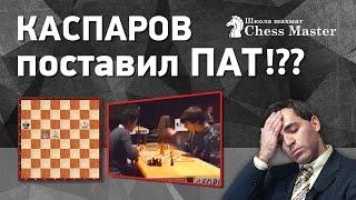 Шахматы. Гарри Каспаров поставил ПАТ ВМЕСТО МАТА!