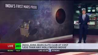 Astronomic Price? India first Mars probe costs